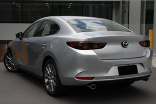 2021 Mazda 3 BP2S7A G20 SKYACTIV-Drive Touring Sonic Silver 6 Speed Sports Automatic Sedan.