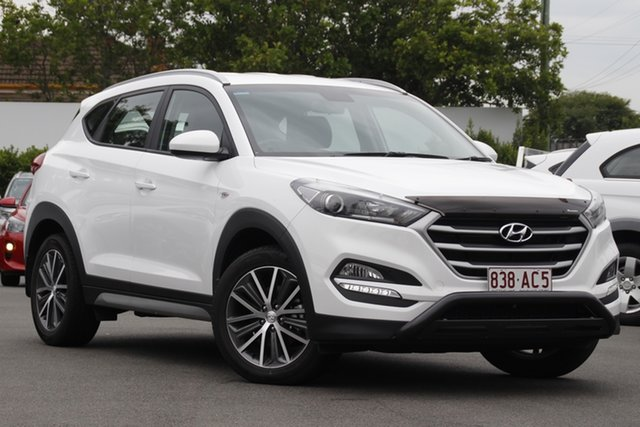 Used Hyundai Tucson TL Active X 2WD Mount Gravatt, 2016 Hyundai Tucson TL Active X 2WD White 6 Speed Sports Automatic Wagon