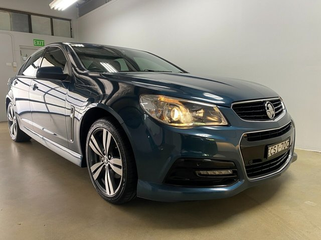 Used Holden Commodore VF SV6 Phillip, 2013 Holden Commodore VF SV6 Blue 6 Speed Automatic Sedan