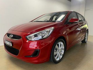 2018 Hyundai Accent RB6 MY19 Sport Red 6 Speed Automatic Hatchback