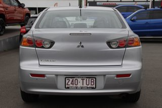 2013 Mitsubishi Lancer CJ MY13 ES Silver 6 Speed Constant Variable Sedan