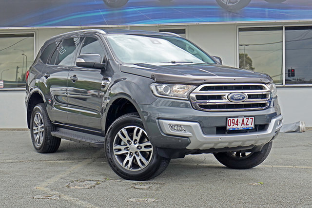Used Ford Everest UA Trend Springwood, 2016 Ford Everest UA Trend Grey 6 Speed Sports Automatic SUV
