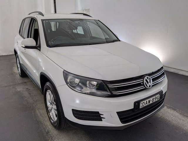 Used Volkswagen Tiguan 5N MY16 118TSI DSG 2WD Maryville, 2015 Volkswagen Tiguan 5N MY16 118TSI DSG 2WD White 6 Speed Sports Automatic Dual Clutch Wagon