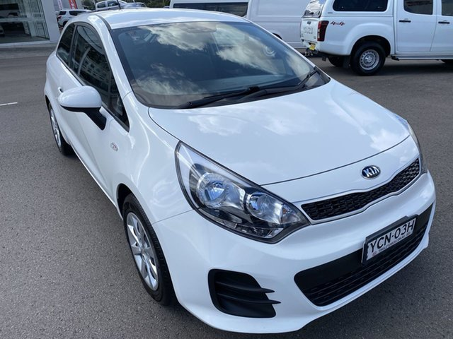 Used Kia Rio UB MY16 S Cardiff, 2016 Kia Rio UB MY16 S White 4 Speed Sports Automatic Hatchback