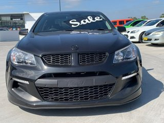 2015 Holden Special Vehicles ClubSport Gen-F2 MY16 R8 LSA Black 6 Speed Manual Sedan
