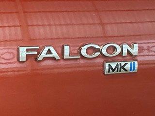 2007 Ford Falcon BF Mk II XT Orange 4 Speed Sports Automatic Wagon