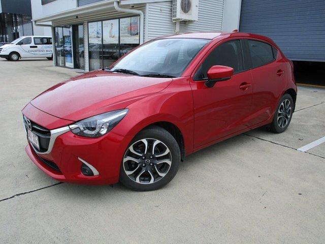 Used Mazda 2 DJ2HAA Genki SKYACTIV-Drive Caboolture, 2017 Mazda 2 DJ2HAA Genki SKYACTIV-Drive Red 6 Speed Sports Automatic Hatchback