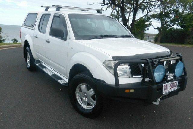 Used Nissan Navara D40 S6 MY12 RX Gladstone, 2011 Nissan Navara D40 S6 MY12 RX White 6 Speed Manual Utility