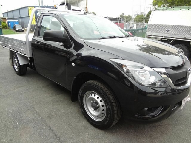 Used Mazda BT-50 MY16 XT (4x2) Coopers Plains, 2017 Mazda BT-50 MY16 XT (4x2) Black 6 Speed Manual Cab Chassis