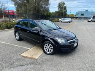 2006 Holden Astra AH MY06 CD Black 4 Speed Automatic Hatchback.