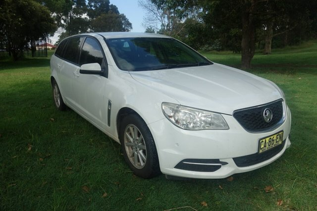 Used Holden Commodore VF MY14 Evoke Sportwagon East Maitland, 2014 Holden Commodore VF MY14 Evoke Sportwagon White 6 Speed Sports Automatic Wagon