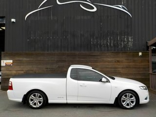 2011 Ford Falcon FG XR6 Ute Super Cab White 6 Speed Sports Automatic Utility.