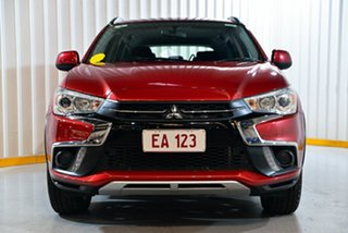 2018 Mitsubishi ASX XC MY19 ES 2WD Red/Black 1 Speed Constant Variable Wagon
