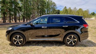 2016 Kia Sorento UM MY16 SLi AWD Aurora Black 6 Speed Sports Automatic Wagon