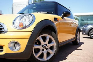 2008 Mini Cooper R56 Yellow 6 Speed Automatic Hatchback.
