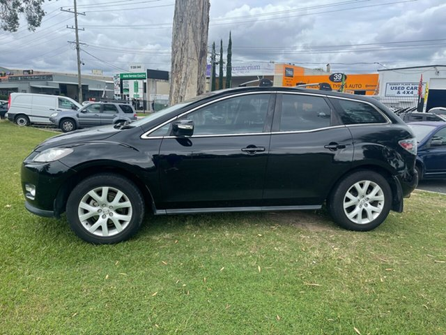 Used Mazda CX-7 ER1031 MY07 Luxury Clontarf, 2007 Mazda CX-7 ER1031 MY07 Luxury Black 6 Speed Sports Automatic Wagon