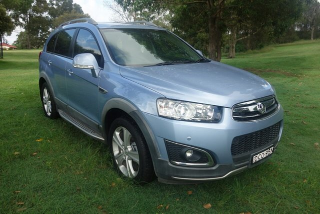 Used Holden Captiva CG MY15 5 AWD LTZ East Maitland, 2015 Holden Captiva CG MY15 5 AWD LTZ Blue 6 Speed Sports Automatic Wagon