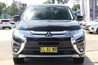 2016 Mitsubishi Outlander ZK MY17 LS Safety Pack (4x4) 7 Seats Black 6 Speed Automatic Wagon