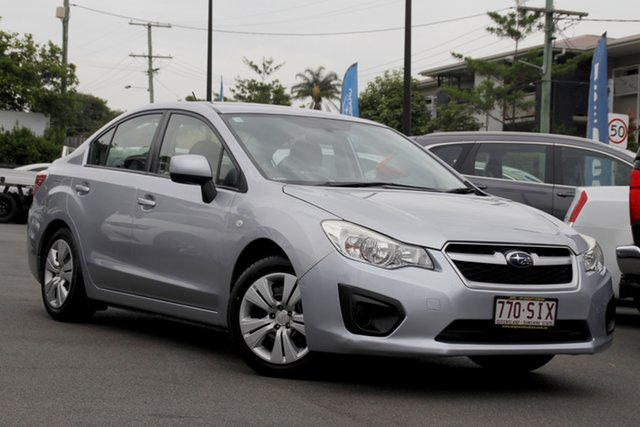 Used Subaru Impreza G4 MY12 2.0i Lineartronic AWD Mount Gravatt, 2012 Subaru Impreza G4 MY12 2.0i Lineartronic AWD Silver 6 Speed Constant Variable Sedan
