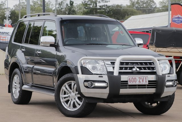 Used Mitsubishi Pajero NX MY17 GLX Bundamba, 2016 Mitsubishi Pajero NX MY17 GLX Graphite 5 Speed Sports Automatic Wagon