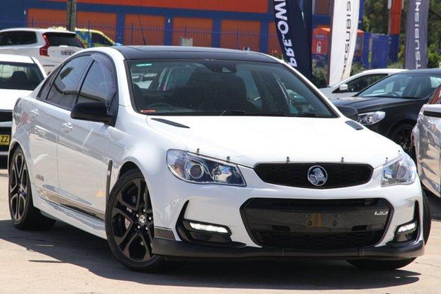 Used Holden Commodore VF SS-V Redline Chullora, 2014 Holden Commodore VF SS-V Redline White Automatic Sedan