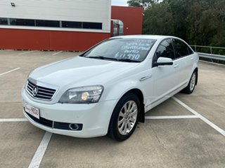 2008 Holden Statesman WM MY08 V6 White 5 Speed Auto Active Select Sedan