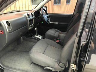 2008 Holden Colorado RC LT-R Crew Cab 4x2 Black 4 Speed Automatic Utility