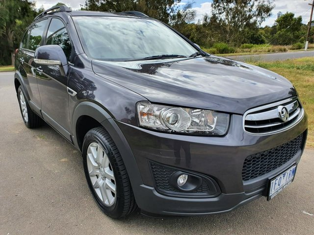 Used Holden Captiva CG 7 Active Geelong, 2015 Holden Captiva CG 7 Active Grey Sports Automatic Wagon