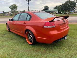 2007 Holden Commodore VE SS Orange 6 Speed Sports Automatic Sedan