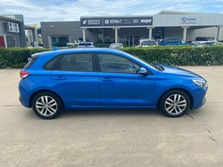2018 Hyundai i30 PD MY18 Active Blue/310718 6 Speed Sports Automatic Hatchback.