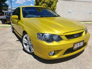 2007 Ford Falcon BF Mk II XR8 Yellow 6 Speed Sports Automatic Sedan.