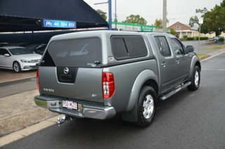 2010 Nissan Navara D40 ST (4x4) Grey 5 Speed Automatic Dual Cab Pick-up