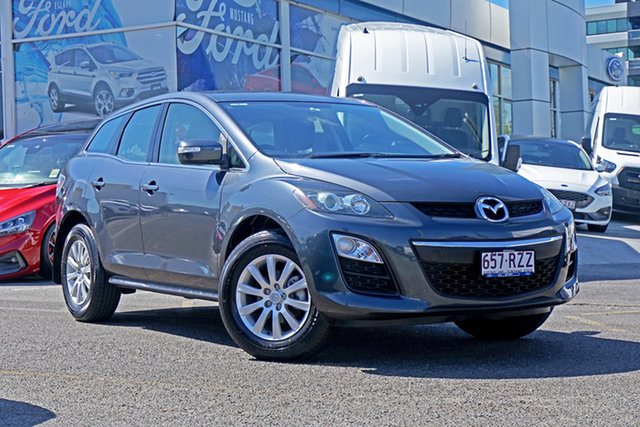 Used Mazda CX-7 ER10L2 Classic Activematic Springwood, 2011 Mazda CX-7 ER10L2 Classic Activematic Grey 5 Speed Sports Automatic Wagon