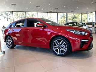 2021 Kia Cerato BD MY21 Sport Runway Red 6 Speed Sports Automatic Hatchback.