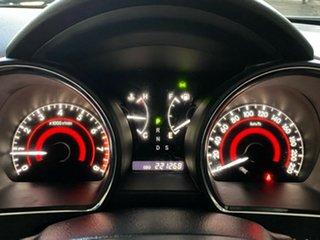 2010 Toyota Kluger GSU45R KX-R AWD Silver 5 Speed Sports Automatic Wagon