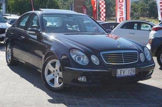 2003 Mercedes-Benz E-Class W211 E240 Avantgarde Blue 5 Speed Sports Automatic Sedan.