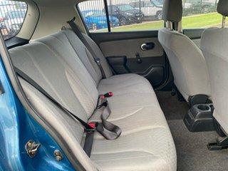 2007 Nissan Tiida C11 MY07 ST Blue 6 Speed Manual Hatchback