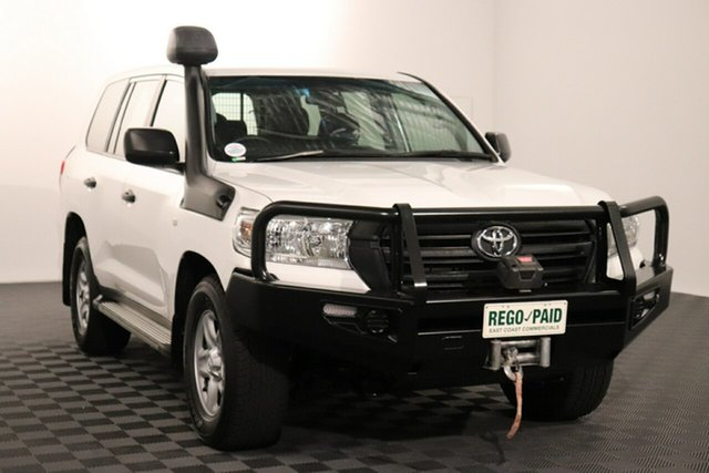 Used Toyota Landcruiser VDJ200R GX Acacia Ridge, 2015 Toyota Landcruiser VDJ200R GX White 6 speed Automatic Wagon