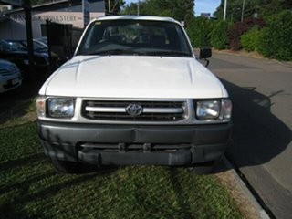 1999 Toyota Hilux RZN174R (4x4) White 5 Speed Manual 4x4 X Cab Pickup