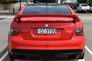 2009 Holden Special Vehicles ClubSport E Series MY09 R8 Red 6 Speed Manual Sedan