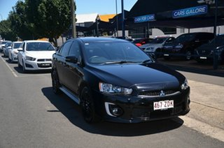 2017 Mitsubishi Lancer CF MY17 Black Edition (es) Black 6 Speed CVT Auto Sequential Sedan.