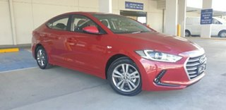2017 Hyundai Elantra AD MY17 Active Fiery Red 6 Speed Sports Automatic Sedan.