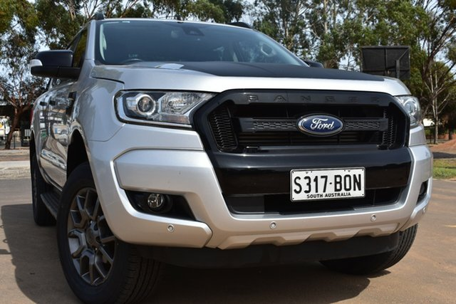 Used Ford Ranger PX MkII FX4 Double Cab St Marys, 2017 Ford Ranger PX MkII FX4 Double Cab Silver 6 Speed Sports Automatic Utility