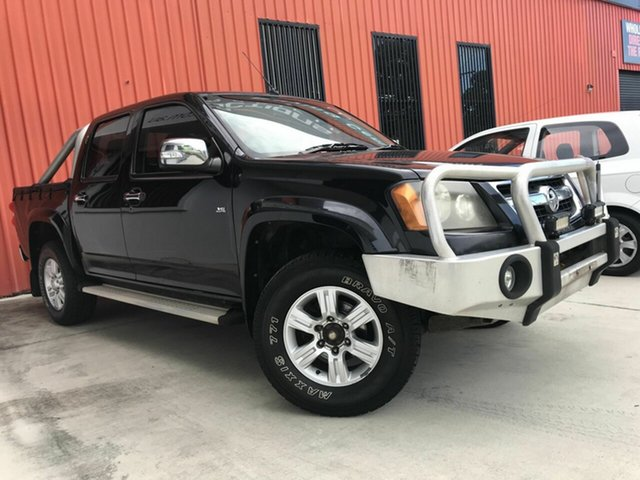 Used Holden Colorado RC LT-R Crew Cab 4x2 Molendinar, 2008 Holden Colorado RC LT-R Crew Cab 4x2 Black 4 Speed Automatic Utility