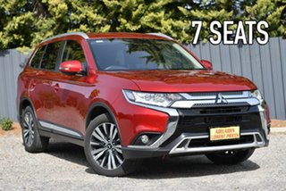 2019 Mitsubishi Outlander ZL MY20 LS 2WD Red 6 Speed Constant Variable Wagon.