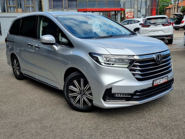 Demo Honda Odyssey Hornsby, 2020 Honda Odyssey RC 21YM VI LX7 Super Platinum 7 Speed Constant Variable Wagon