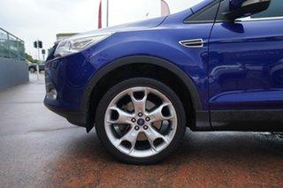 2014 Ford Kuga TF Titanium (AWD) Blue 6 Speed Automatic Wagon.