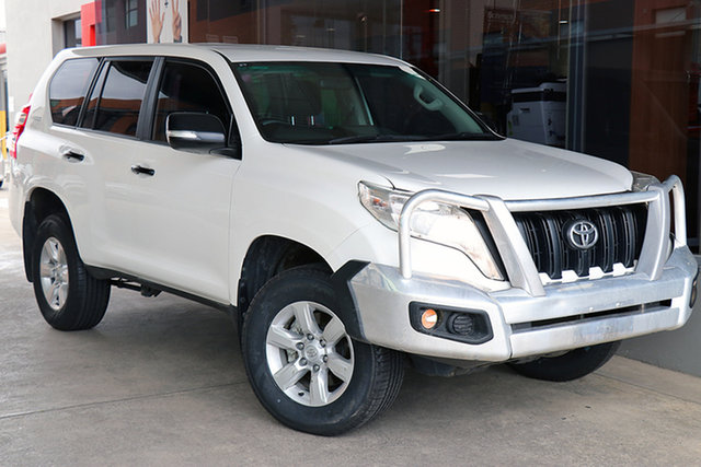 Pre-Owned Toyota Landcruiser Prado GDJ150R GX South Morang, 2017 Toyota Landcruiser Prado GDJ150R GX White 6 Speed Sports Automatic Wagon