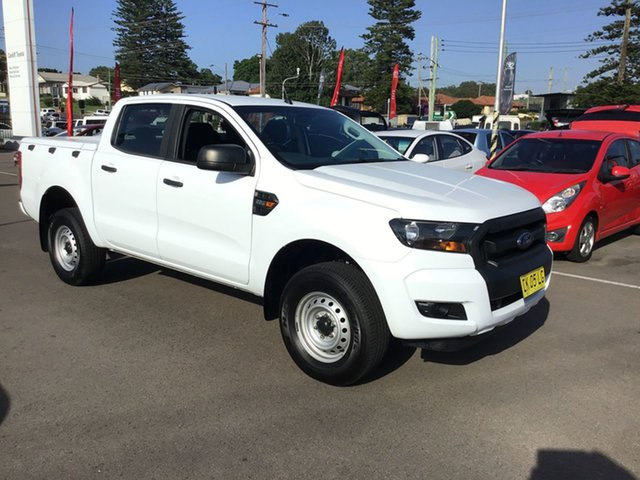 Pre-Owned Ford Ranger PX MkII XL Hi-Rider Cardiff, 2016 Ford Ranger PX MkII XL Hi-Rider White 6 Speed Sports Automatic Utility
