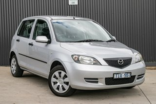 2004 Mazda 2 DY10Y1 Neo Sunlight Silver 4 Speed Automatic Hatchback.